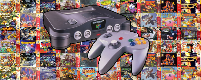 The N64 Is Still My Favourite Console To Date.