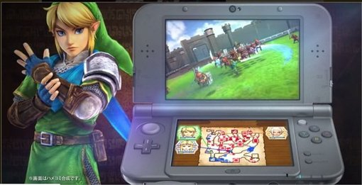Hyrule Warriors Coming To 3DS!