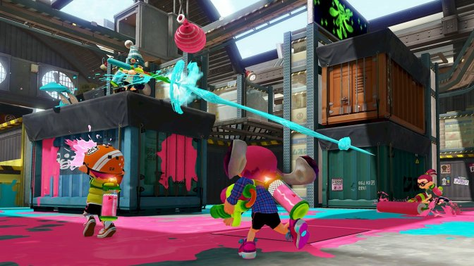August Update For Splatoon! New Weapons, Game Modes & More