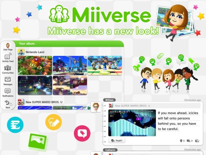 Gaming: Nintendo To Release Miiverse Update
