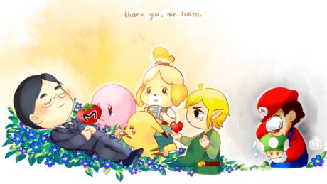 A Tribute To Satoru Iwata, A Great Man And A Legend Amongst Gamers
