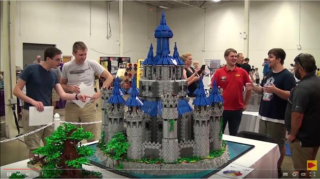 Lego and Legend of Zelda fan recreates the Hyrule Castle in Lego form