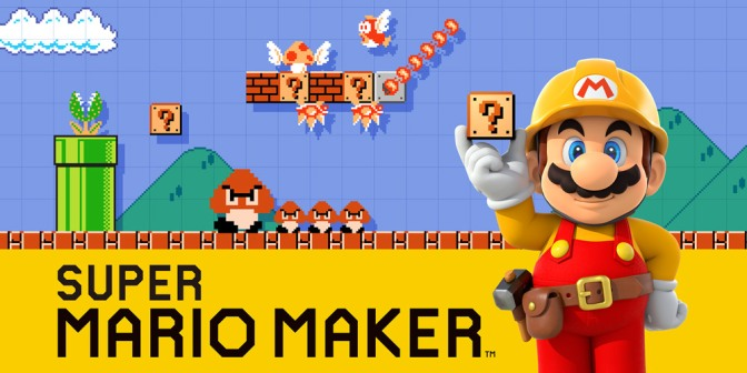 Making it with Super Mario Maker
