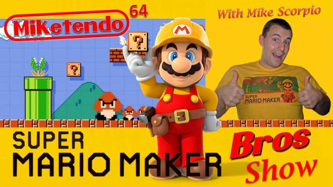 The Pilot has landed… Super Mario Maker Bros Show Episode 1