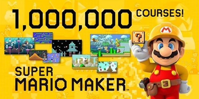 Mario Maker Makes a Million… courses in a week!