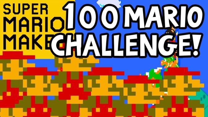 The 100 Mario Challenge