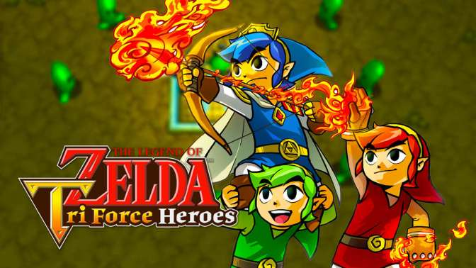 New Update (2.1.0) For Tri Force Heroes