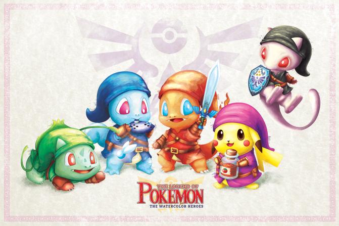 #Pokemon20 & #Zelda30 Month Now Over