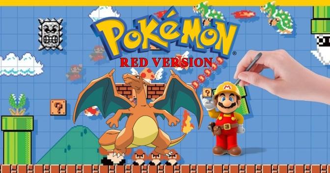 PokemonRed – A Super Mario Maker Series: Season 2