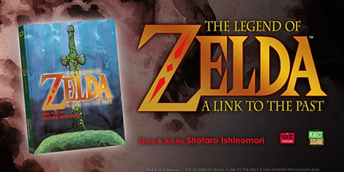 Manga & Zelda: A Link To The Past Graphic Novel (Review)