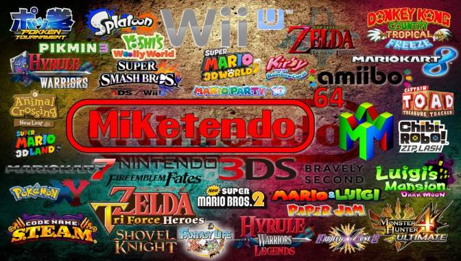 Miketendo64! Bringing You News, Reviews And Soon, Giveaways!