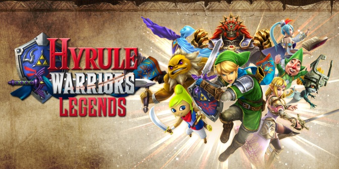 Hyrule Warriors Legends Is In The House!