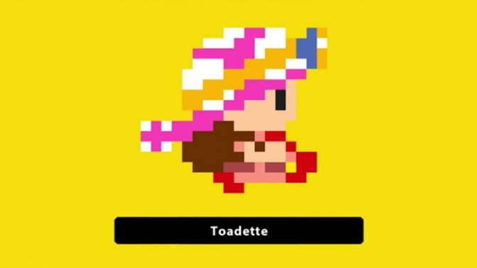 Gender Equality For All Shrooms! Toadette Comes To Super Mario Maker
