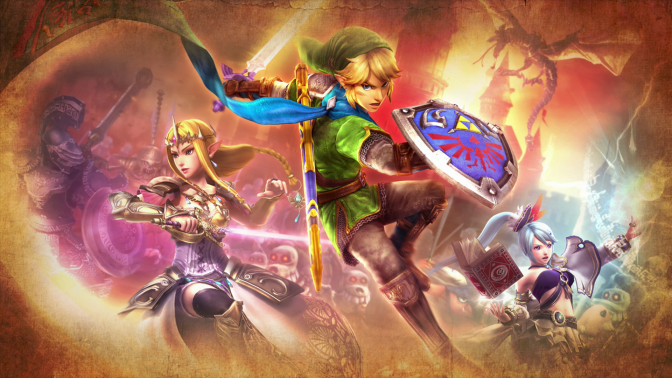The Weapons of Hyrule Warriors