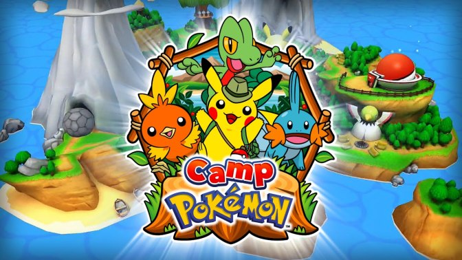 Camp Pokémon – Now in the Google Play Store