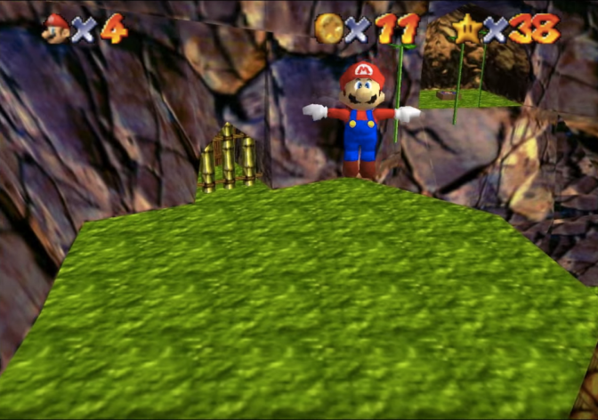 New Fan-Game Combines DK 64 With Mario 64