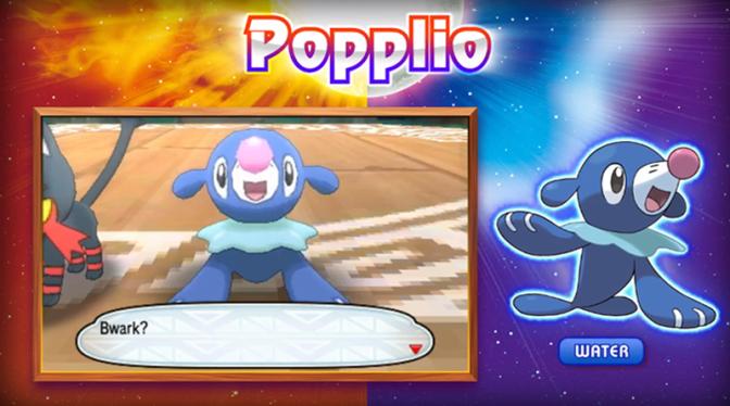 Talking 'Bout The Next Generation: Gen VII – Popplio (The Pokémon Of Sun & Moon)