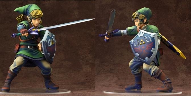 Good Smile Max Factory Link Legend of Zelda: Skwyward Sword Statue Pre-Orders Up