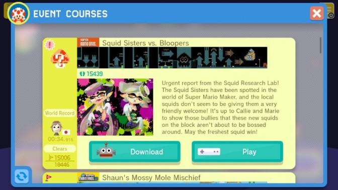 Callie & Marie Help Super Mario Maker to Stay Fresh