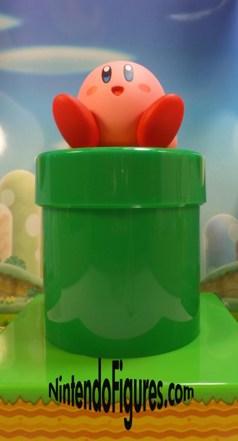 Amiibo Warp Pipe Stand with Kirby