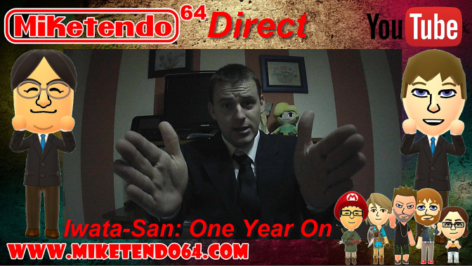 Satoru Iwata: One Year On (Miketendo64 Direct Video)