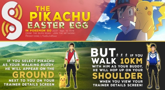 Want Pikachu to Hop onto Your Shoulder in Pokémon GO? Then You'll Love this New Easter Egg