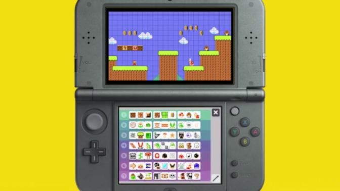Nintendo Announce Super Mario Maker for Nintendo 3DS