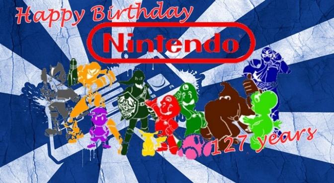 Happy 127th Birthday Nintendo!