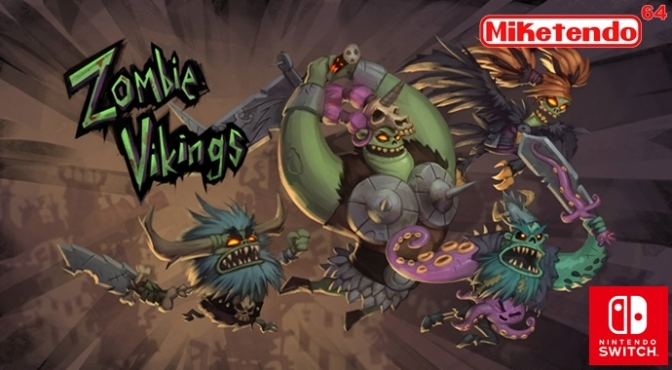 Zoink Games Tease Zombie Vikings on Nintendo Switch