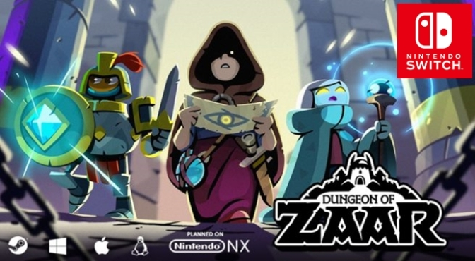 Dungeon of Zaar is Coming to the Nintendo Switch