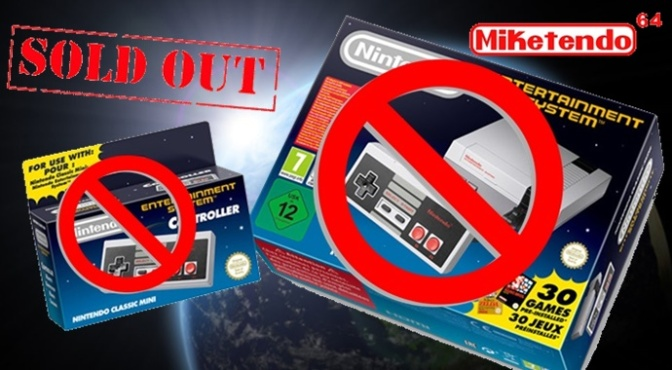 NES Mini Sold Out On Launch Day!