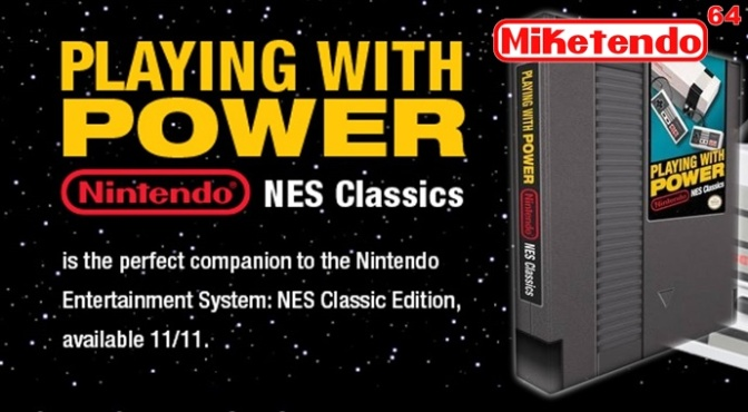 "Hands On with ""Playing With Power: Nintendo NES Classics"""