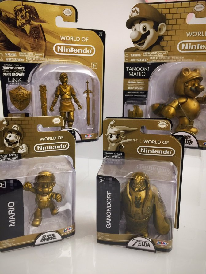 New World of Nintendo Trophy and Prototype Figures Announced!