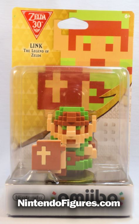 8-bit retro link amiibo legend of zelda