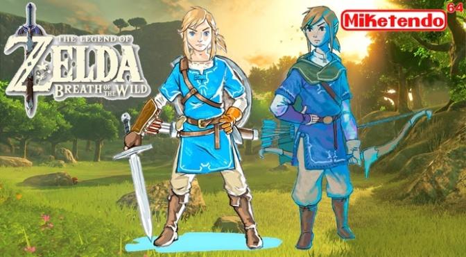 Zelda: Breath Of The Wild, Last Of The Wii U Games (From Nintendo)