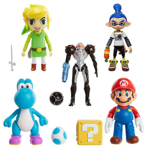 World of Nintendo 4″ Inch Figures Wave 9 Revealed