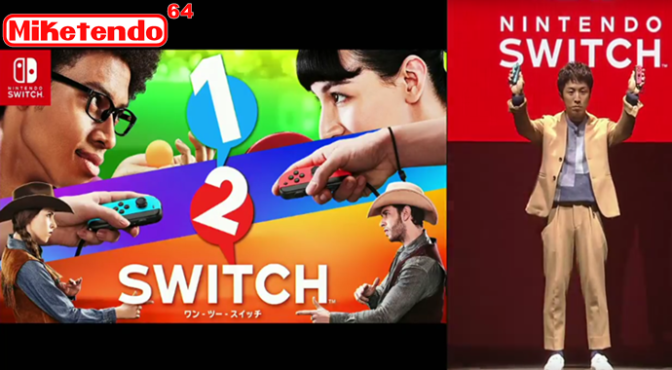 Nintendo Switch Confirmed! 1-2 Switch