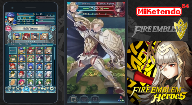 Android Version of Fire Emblem Heroes Appears to Use Google Play Games