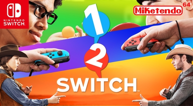 1, 2, Switch: A 2017 Nintendo Switch Title (Nintendo Treehouse Live!)