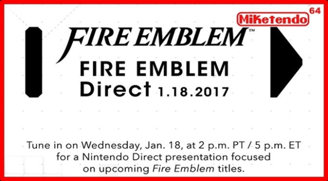 "What to ""Expect"" from Tomorrow's Fire Emblem Direct (Rumours)"