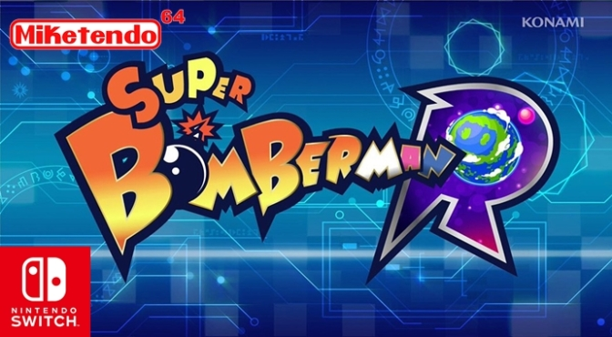 Super Bomberman R: A 2017 Nintendo Switch Title (Nintendo Treehouse Live!)