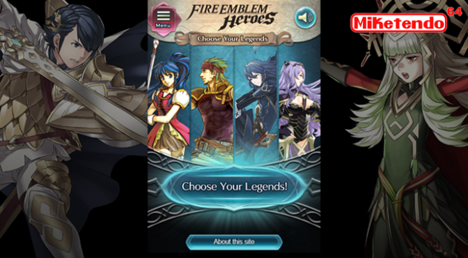"Last Day to ""Choose your Legends"" (A Fire Emblem Heroes Event)"