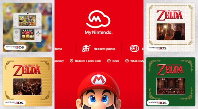 My Nintendo Adds New Zelda Related Rewards for Europe