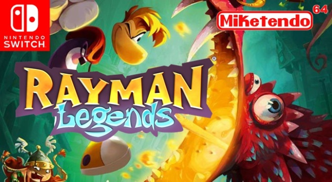 Nintendo Switch Confirmed! Rayman Legends & More Ubisoft Titles!