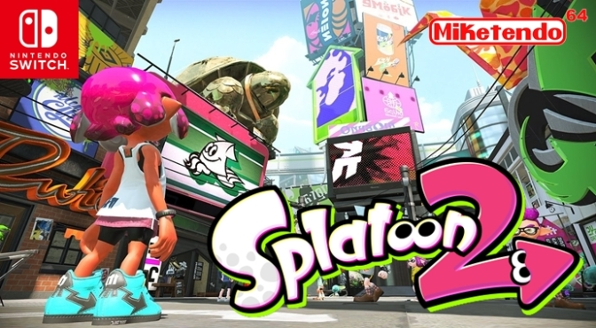 """Splatoon 2 Will Have Voice Chat as a Way of Invigorating the """"Competitive Gaming Scene"""""""