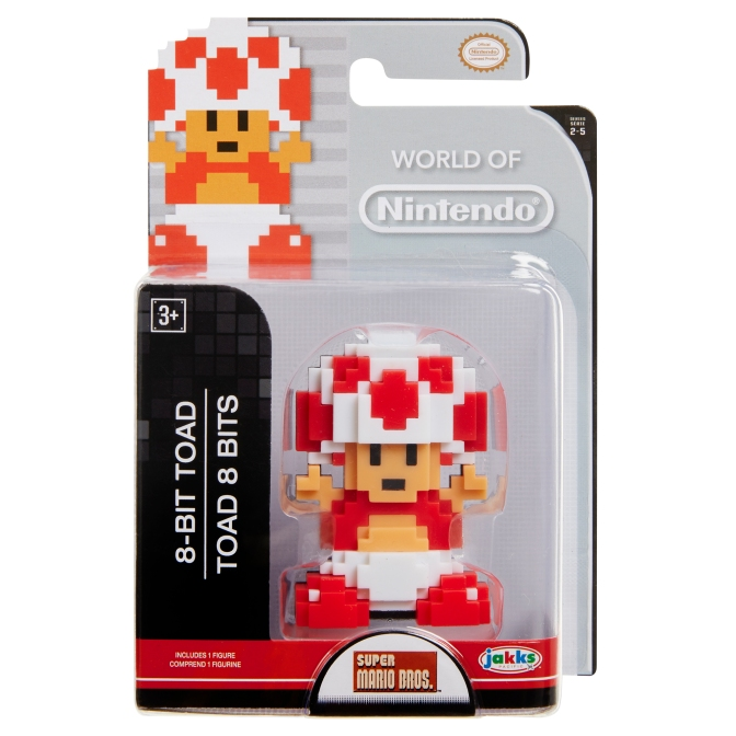 New World of Nintendo 2.5″ Inch Figures, Micro Blind Boxes, and Plush Hangers Spotted!