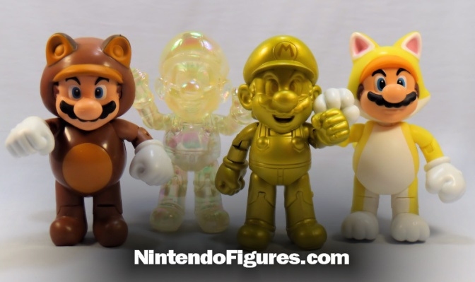 Star Power Mario 4″ Inch World of Nintendo Figure Review