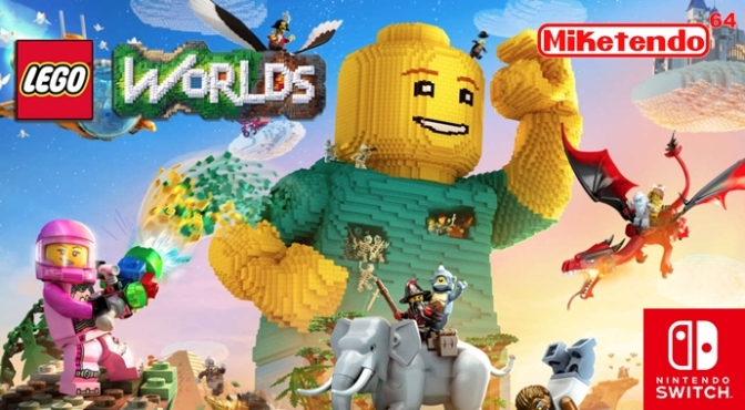 Arthur Parsons Confirms LEGO Worlds for Nintendo Switch