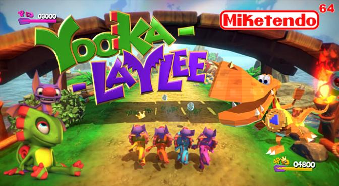 Yooka-Laylee Multiplayer Trailer