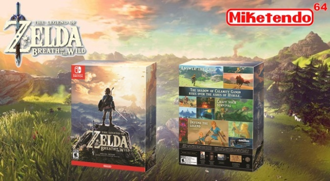 Legend Of Zelda: Breath Of The Wild Collector Editions Revealed